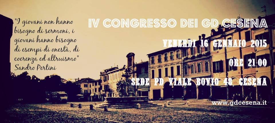 IV Congresso GD Cesena 2015