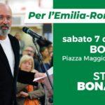 Sabato 7 dicembre a Bologna per Stefano Bonaccini