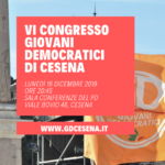 Congresso Giovani Democratici Cesena