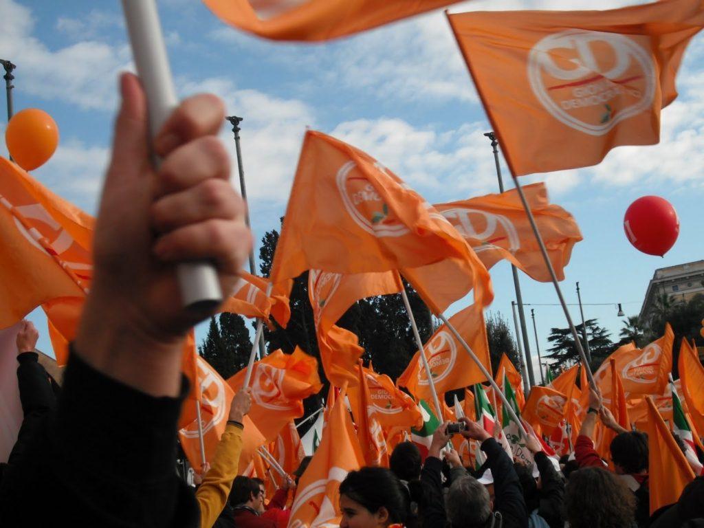 Bandiere Giovani Democratici