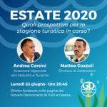 Diretta facebook Estate 2020 Andrea Corsini Matteo Gozzoli