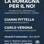 La Romagna per il NO