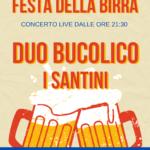 festa della birra cesena concerto duo bucolico i santini